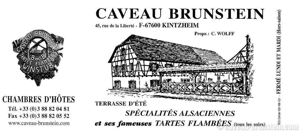 Carte De Visite Caveau Brunstein